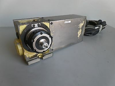 Nikken Cnc100fa 5c Indexer 4th Axis With Haas Brushless Sigma-1 Motor Arpi