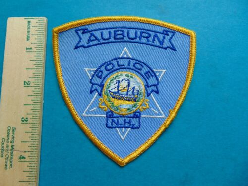 AUBURN NH NEW HAMPSHIRE POLICE PATCH