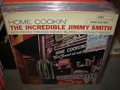 Jimmy Smith Home Cookin   Jazz     Blue Note 84050   Rvg