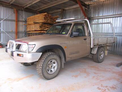 Nissan Patrol Ute 1999 GU DX 4.2L Turbo Manual