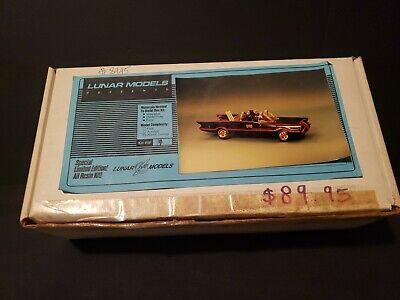 1989 BATMOBILE CLASSIC 1966 LUNAR MODEL RESIN KIT RARE VINTAGE 40YR COLLECTION