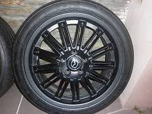 "Mazda 3 KUROI Sports 18"" Alloys and tyres - set of 4 Mount Gravatt Brisbane South East Preview"