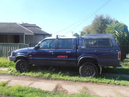 Mazda 1998 4WD Duel fuel, Duel Cab, 6 months Rego