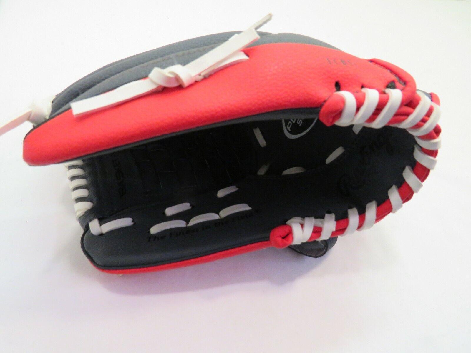 Rawlings PL115G Player Series Youth Baseball Glove RH 11.5 Black Red  - $6.99