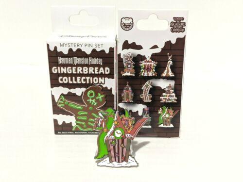 Disney Parks Haunted Mansion Holidays Gingerbread Mystery Blind Pin Disneyland