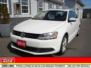 2014 Volkswagen Jetta tsi $10595.00 with 2k down or trade-in* Co