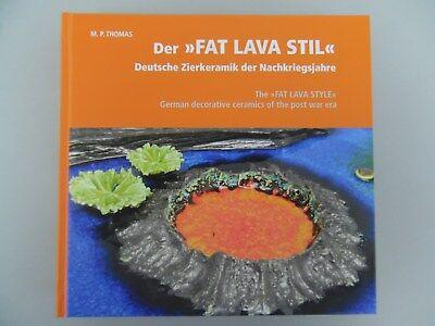 Vase 50er 60er 70er Fat Lava Ruscha Roth ScheurichStudiokeramik Pop Art ES