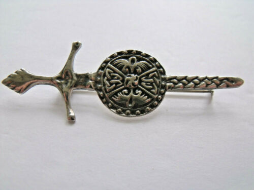 Ward Brothers Scottish sterling silver kilt pin c.1958