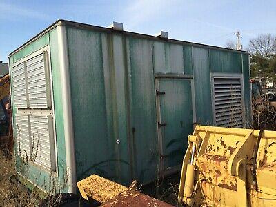 750 Kw. Cummins Stand By Diesel Generator Weather Housing Kohler Generac Cat
