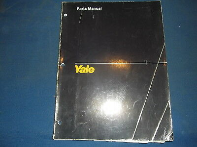 Yale Mpw 6000 8000 Lb Forklift Lift Truck Pallet Jack Parts Manual Book 1556