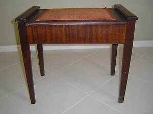 Piano stool antique Green Point Gosford Area Preview