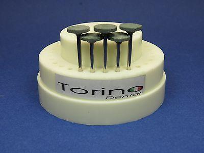 Dental Lab Acrylic Burs Conic Inverted Hp Green Kit 5 Pcs Torino