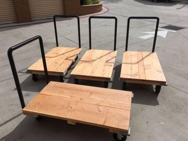 2000lb Industrial Push Cart