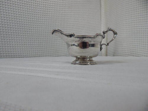 Vintage! I.F.S.England Silver-Plated Gravy Dish
