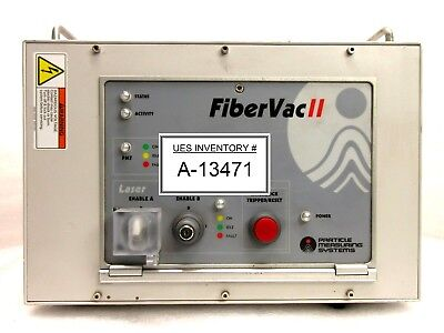 Particle Measuring Systems Fibervac Ii Laser Control Unit Rev. D Used Working