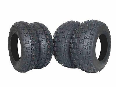 6 ply 21x7-10 , 20x10-9 ATV TIRES (All 4 Tires) Yamaha Raptor /Warrior/ Banshee