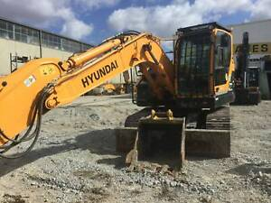 Hyundai R145CRD-9 Excavator Hallam Casey Area Preview