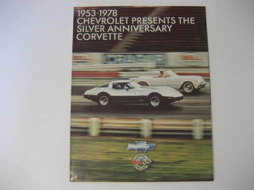 1978 Chevrolet Corvette Brochure