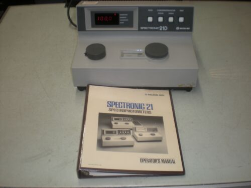 Milton Roy Spectronic 21D Spectrophotometer with Operator