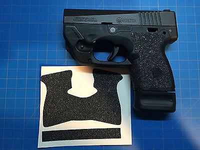 Beretta Nano BU9 Custom Rubber Tactical Gun Grips! Better Grip Than Talon