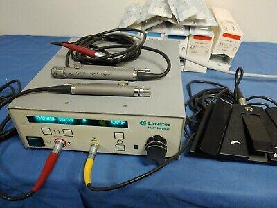 Halllinvatec E9000 W E9005 Handpiece Mc9840 W 30 Blades Footswitch C9863