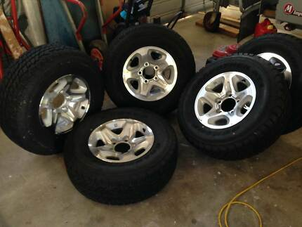 wheels & tyres , Land Cruiser 79 GXL ute wheels Gladstone Gladstone City Preview