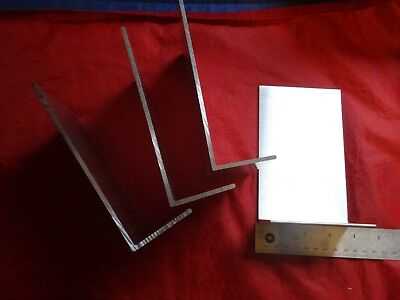 2 X 6 Aluminum Angle 18 Thick 3 58 In Length 4 Pieces