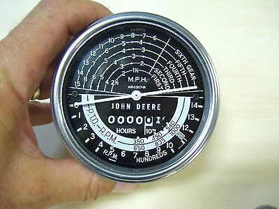 New Oem John Deere 80 820 830 840 Tachometer Ar1317r-can Use For 50 60 70 Others