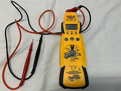Fieldpiece Hs33 Expandable Manual Ranging Stick Multimeter For Hvacr