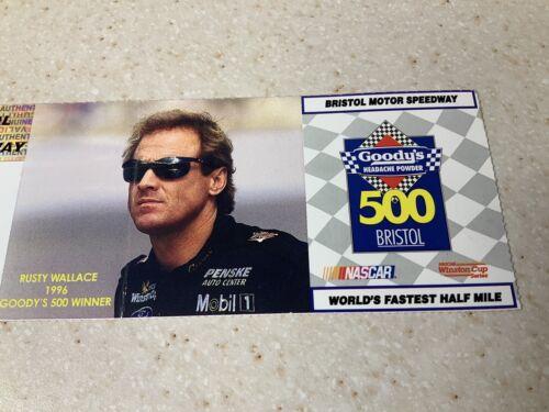 1997 Nascar Winston Cup Series Goody s 500 Bristol Speedway Racing Ticket  - $25.00