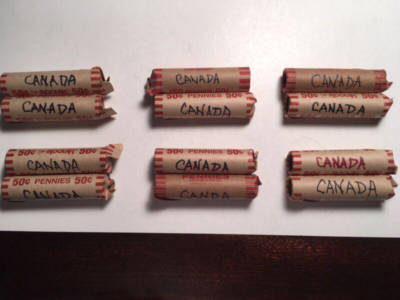 Canada Penny Rolls