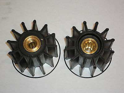 2 each Impeller Kit Fits Cummins 3974456 SMX Super 27 Sherwood 27000K