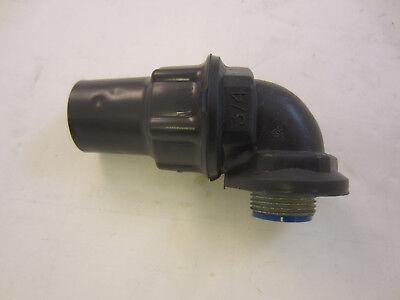 Robroy Pr5353 34 Pvc Coated 90 Deg. Sealtight Connector  Ocal St3490-g