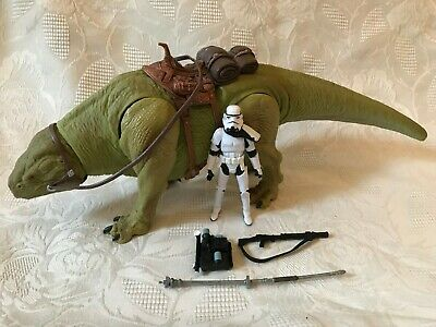 Star Wars Walmart Dewback with Sandtrooper Action Figure Legacy Hasbro 2009