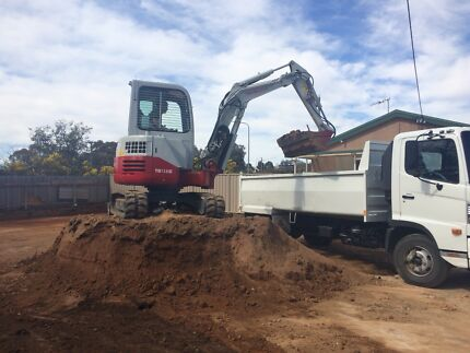 Excavator and Tipper hire