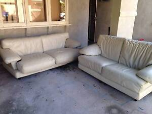 2x 2 Seater Sofa - Leather North Bondi Eastern Suburbs Preview
