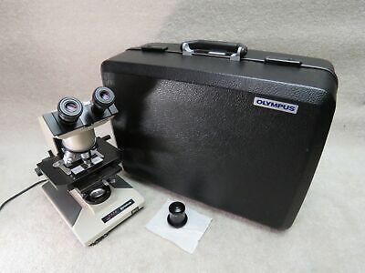 Olympus Bh-2 Bhtu Microscope With 4 Objectives 2 Condensers Abbe Darkfield