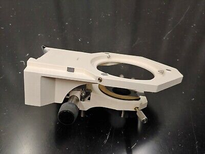 Zeiss Axiophot 45 18 25 Xy Mechanical Stage Substage Condenser Holder 451825