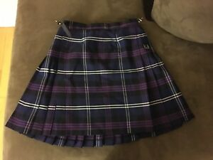 Purple Kilt From Scotland