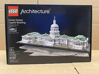LEGO Architecture - 21030 United States Capitol Building - NEW - FREE SHIPPING