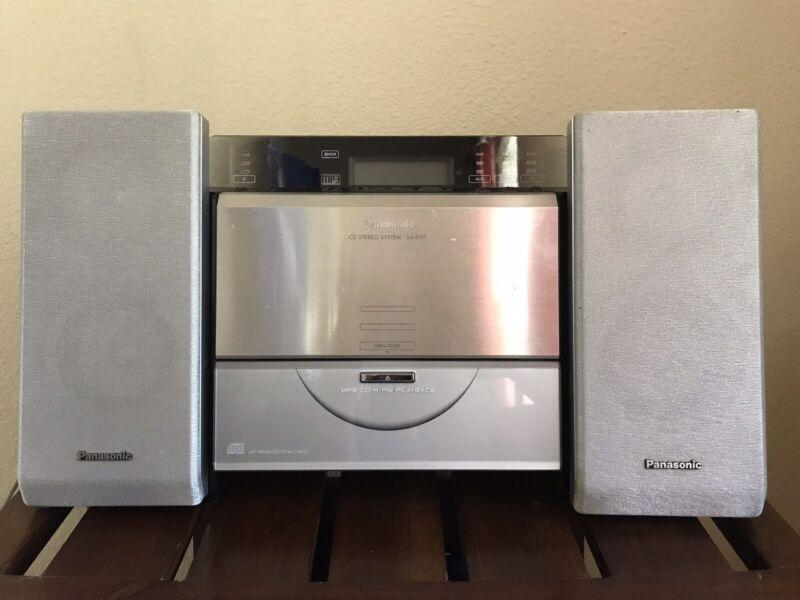 Panasonic SA-EN7 AM/FM Radio, CD Player, MP3 aux. Panasonic CD stereo system.