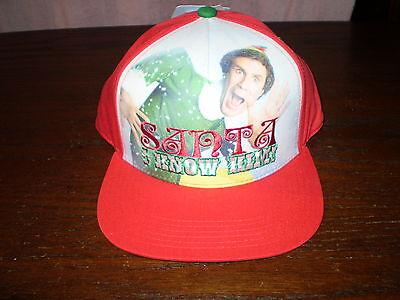 NWT! Mens Buddy The Elf Hat Cap! SANTA I KNOW HIM! Very Good Quality! CHRISTmas (Elf Cap)