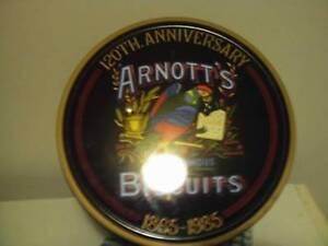 120th anniversary arnotts biscuits tin rare! Warburton Yarra Ranges Preview