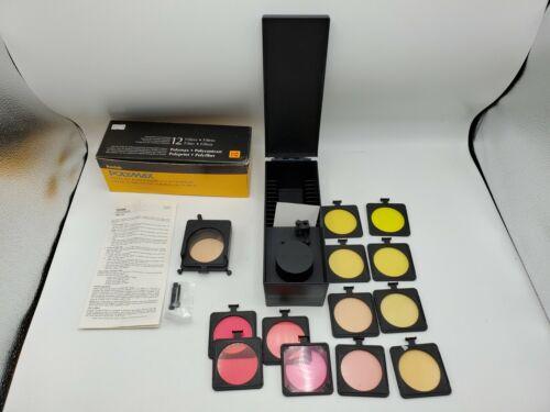 Kodak Polymax Polycontrast Filter Kit Set - 12 Filters