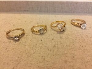 10K and 14K rings
