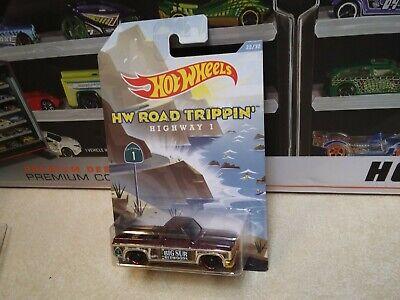 "Hot Wheels HW ""Road Trippin"" 83 Chevy Silverado- Highway 1 BIG SUR Redwoods"