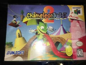 Rare Factory Sealed Copy of Chameleon Twist 2 Nintendo 64