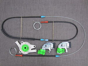 2001 audi a4 electric window regulator repair set fr front
