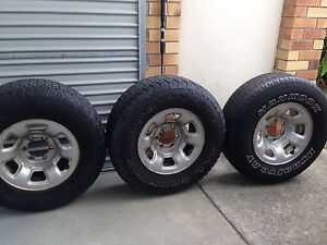 3   4 X 4  TYRES FOR SALE $100 FOR ALL 3 Tweed Heads Tweed Heads Area Preview