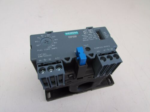 SIEMENS ESP200 OVERLOAD RELAY 48BTH3S00 , 50-200A , 600V NICE TAKEOUT M/OFFER!!